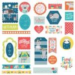 We Can Just Stay Home Ephemera Cardstock Die-Cuts-