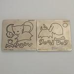 Cuttlebug Provo Craft - Dog & Cat - Dies (2 Pack)