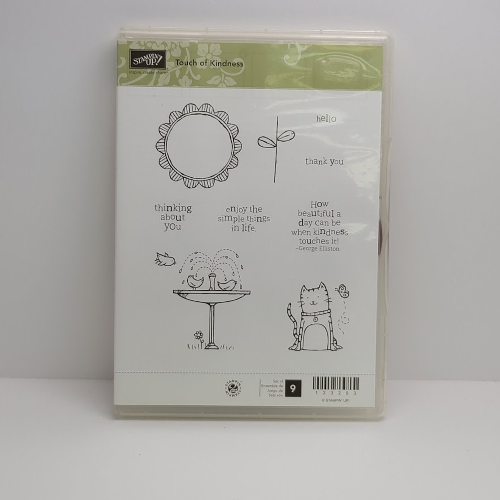 Stampin' Up Stampin' up - Cling Stamps - Touch of Kindness