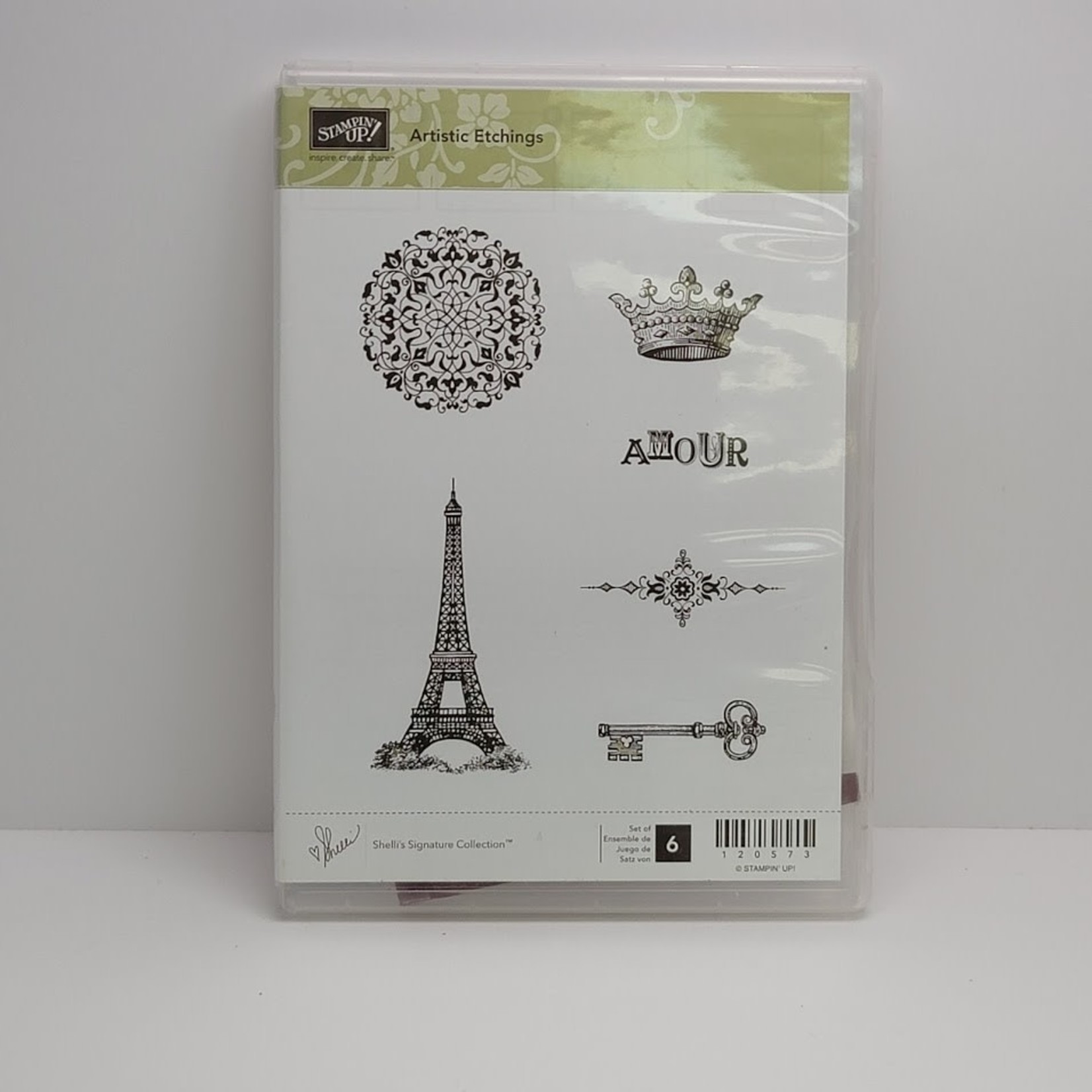 Stampin' Up Stampin' up - Cling Stamps - Artistic Etchings