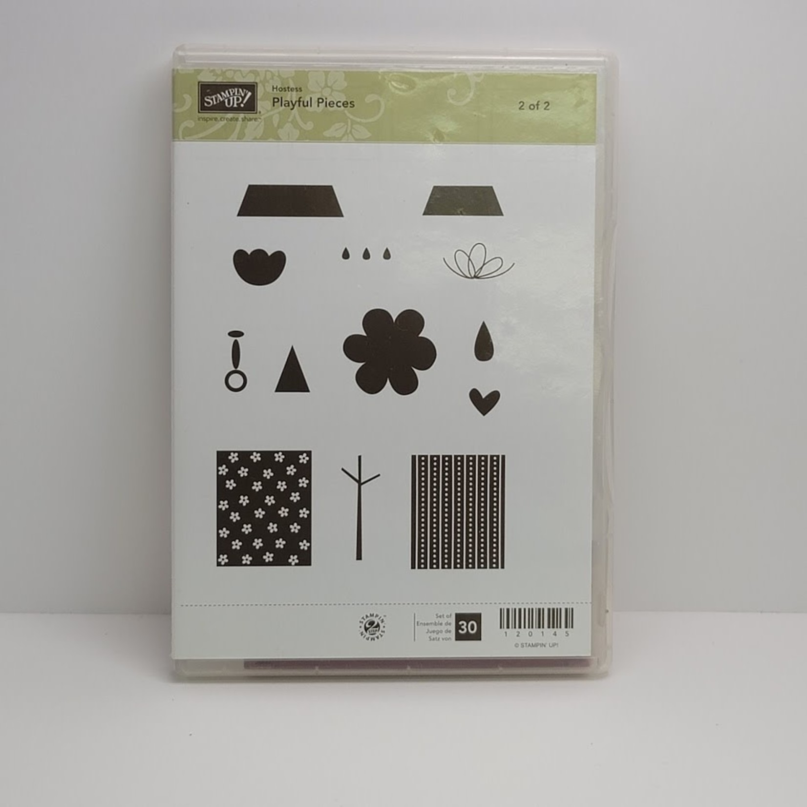 Stampin' Up Stampin' up - Cling Stamps - Playful Pieces