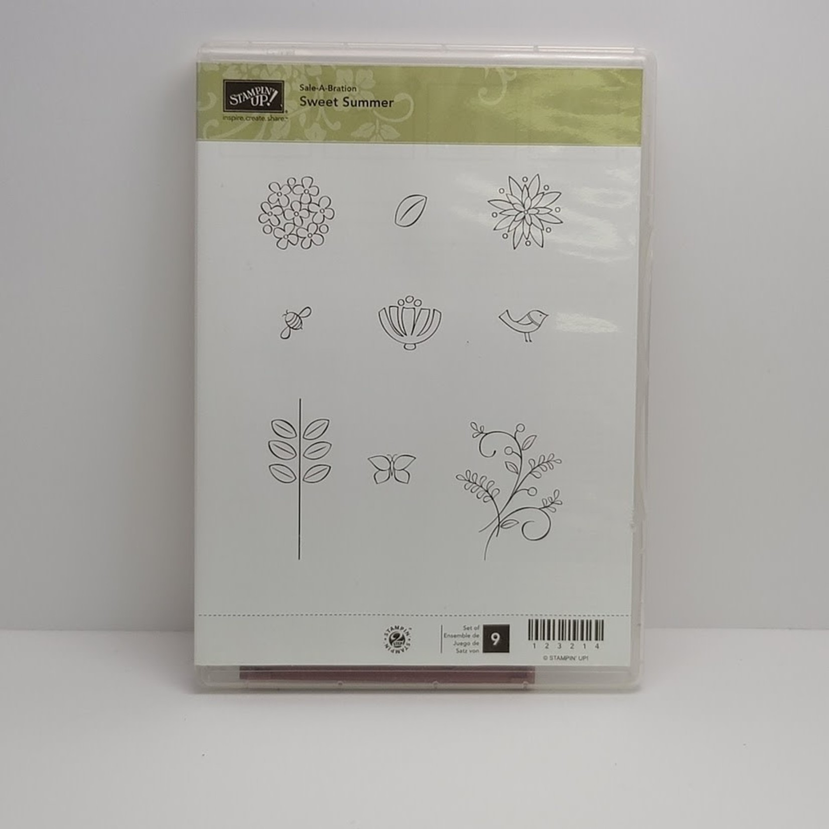 Stampin' Up Stampin' up - Cling Stamps - Sweet Summer