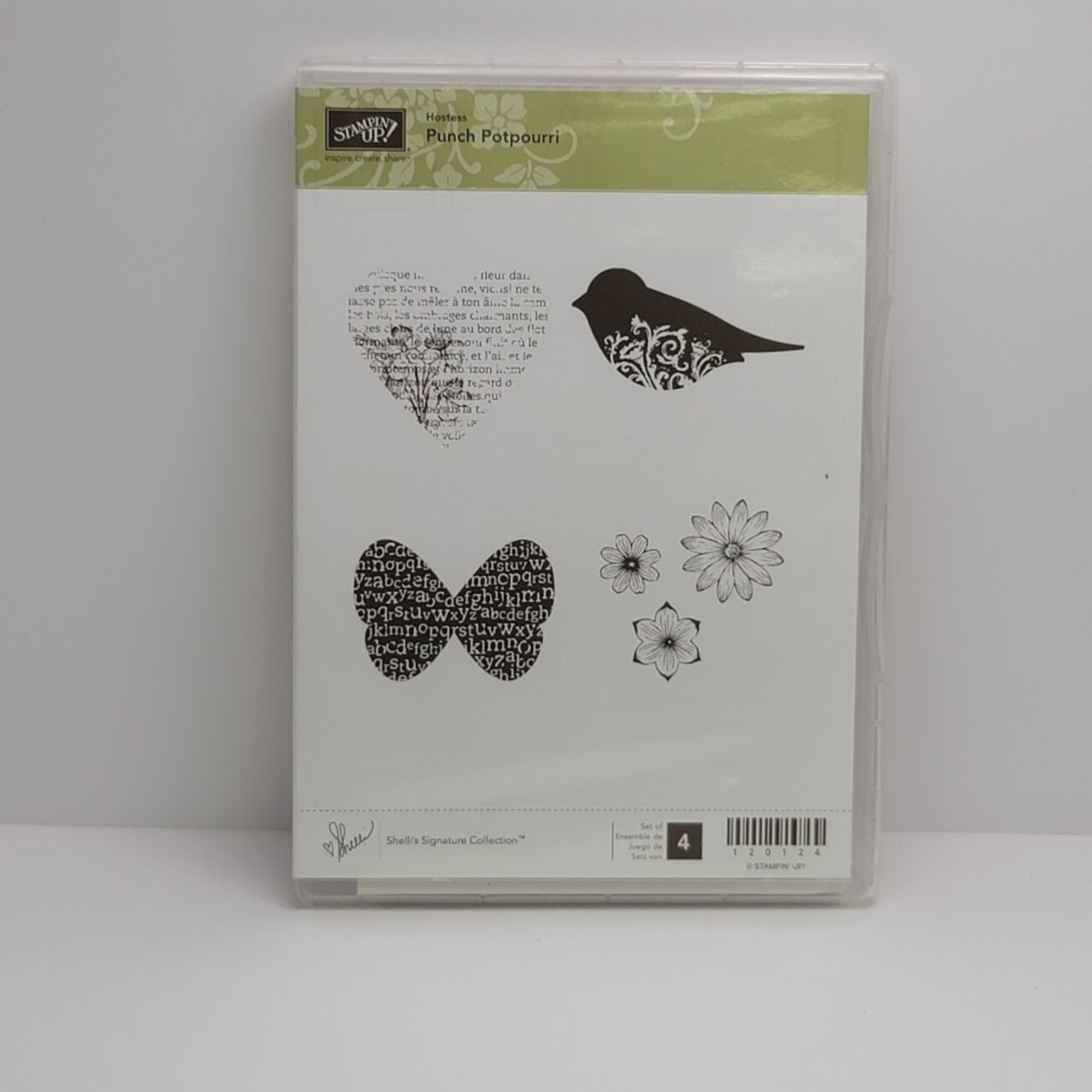 Stampin' Up Stampin' up - Cling Stamps - Punch Potpourri