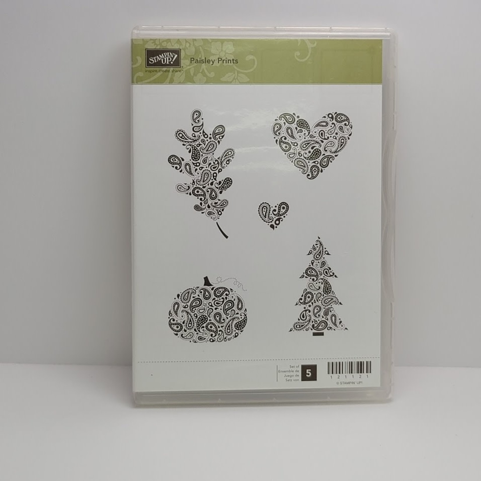 Stampin' Up Stampin' up - Cling Stamps - Paisley Prints