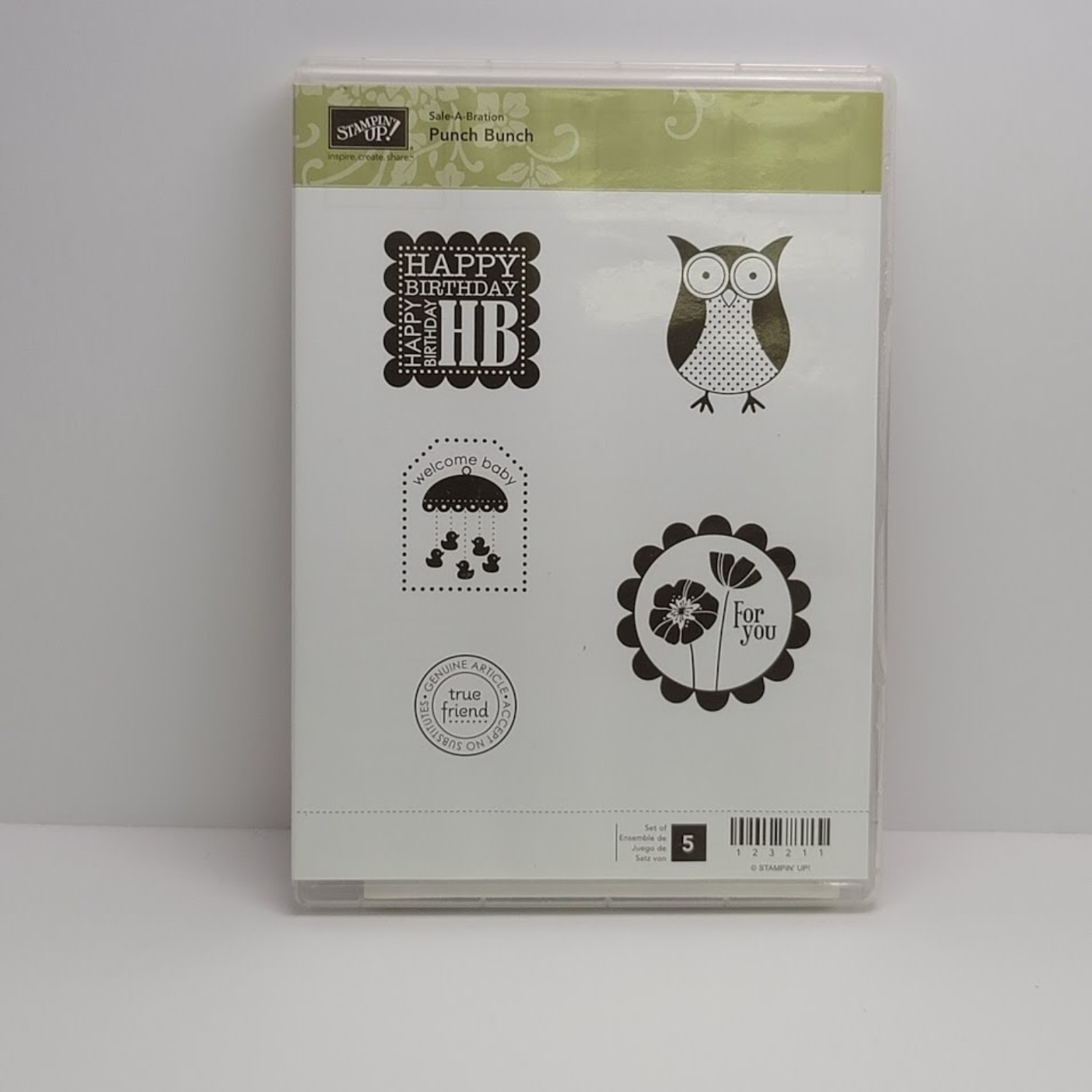 Stampin' Up Stampin' up - Cling Stamps - Punch Bunch