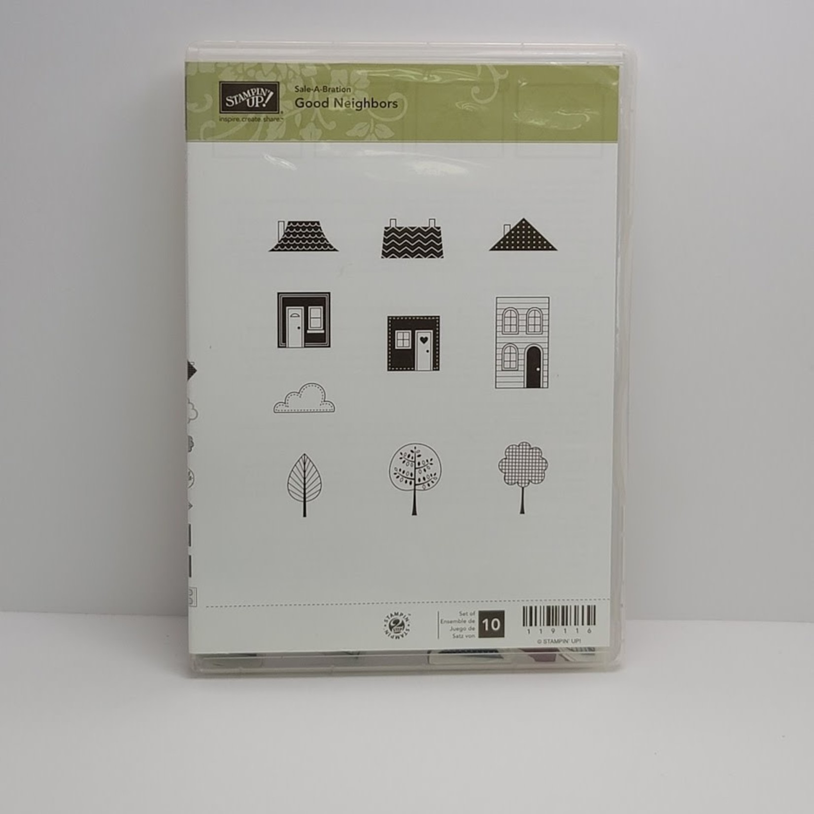 Stampin' Up Stampin' up - Cling Stamps - Good Neighbors