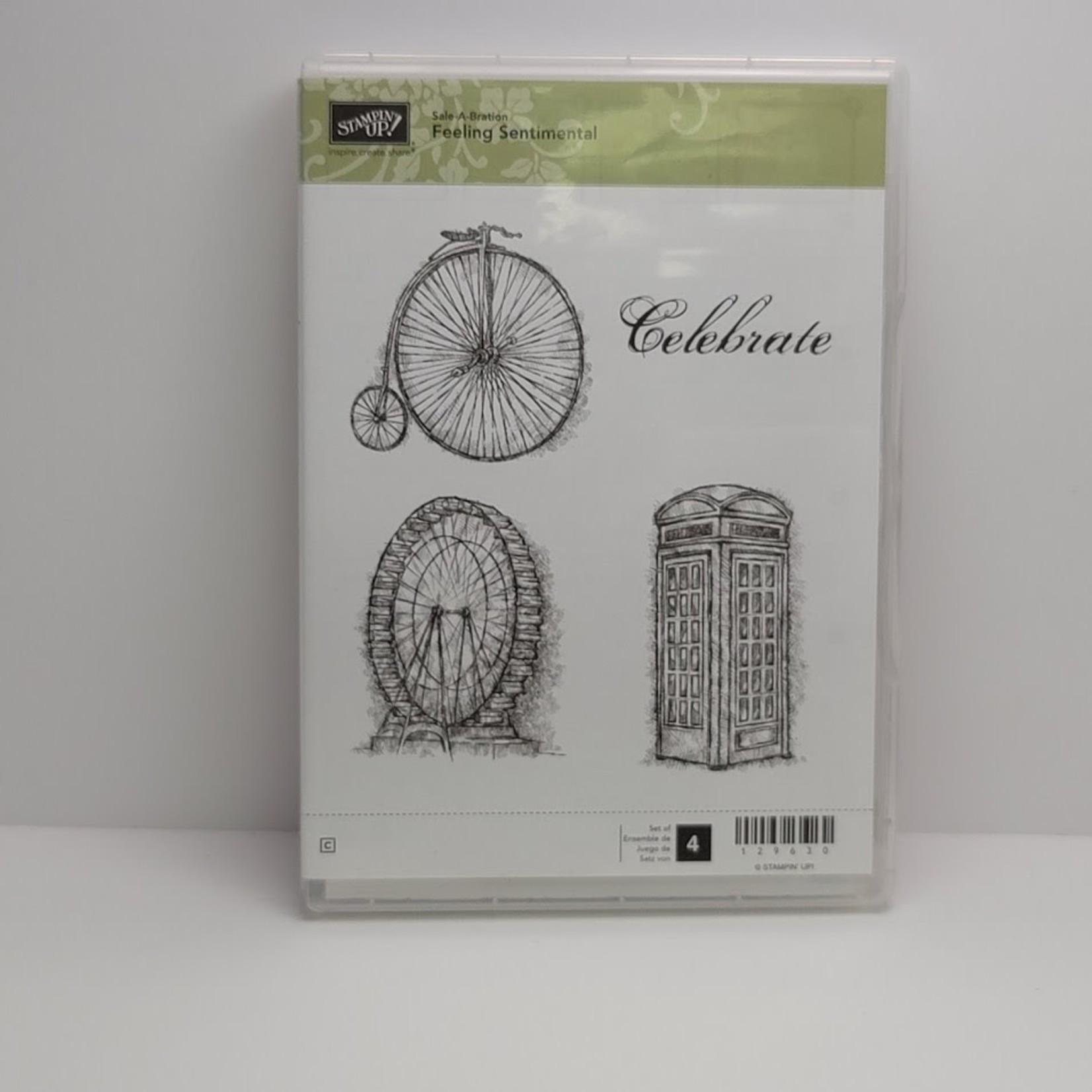 Stampin' Up Stampin' up - Cling Stamps - Feeling Sentimental
