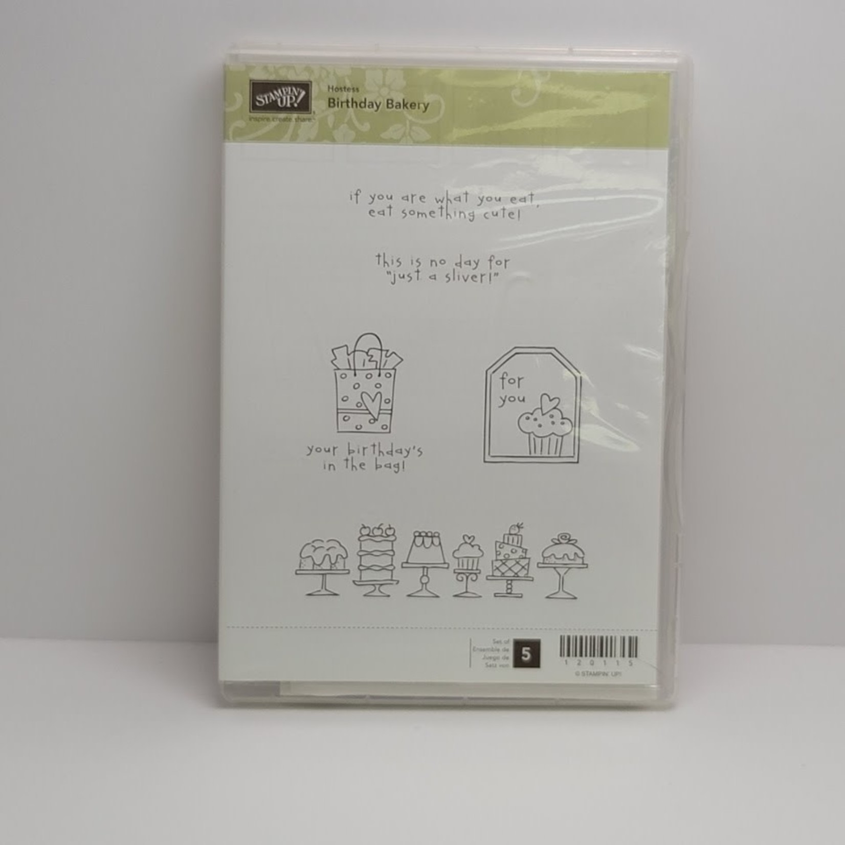 Stampin' Up Stampin' up - Cling Stamps - Birthday Bakery