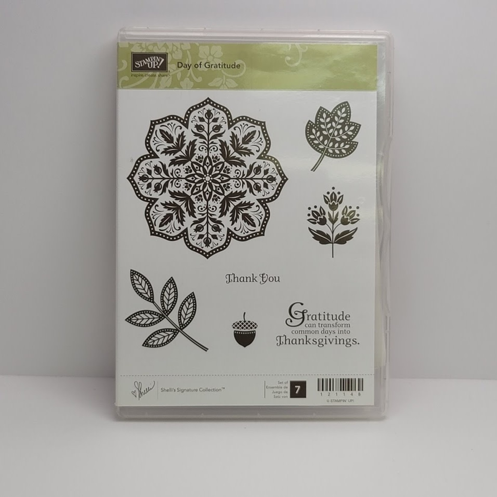 Stampin' Up Stampin' up - Cling Stamps - Day of Gratitude