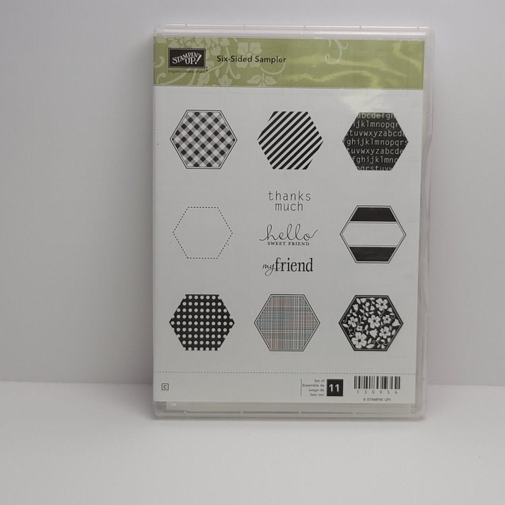 Stampin' Up Stampin' up - Cling Stamps - Six-Sided Sampler