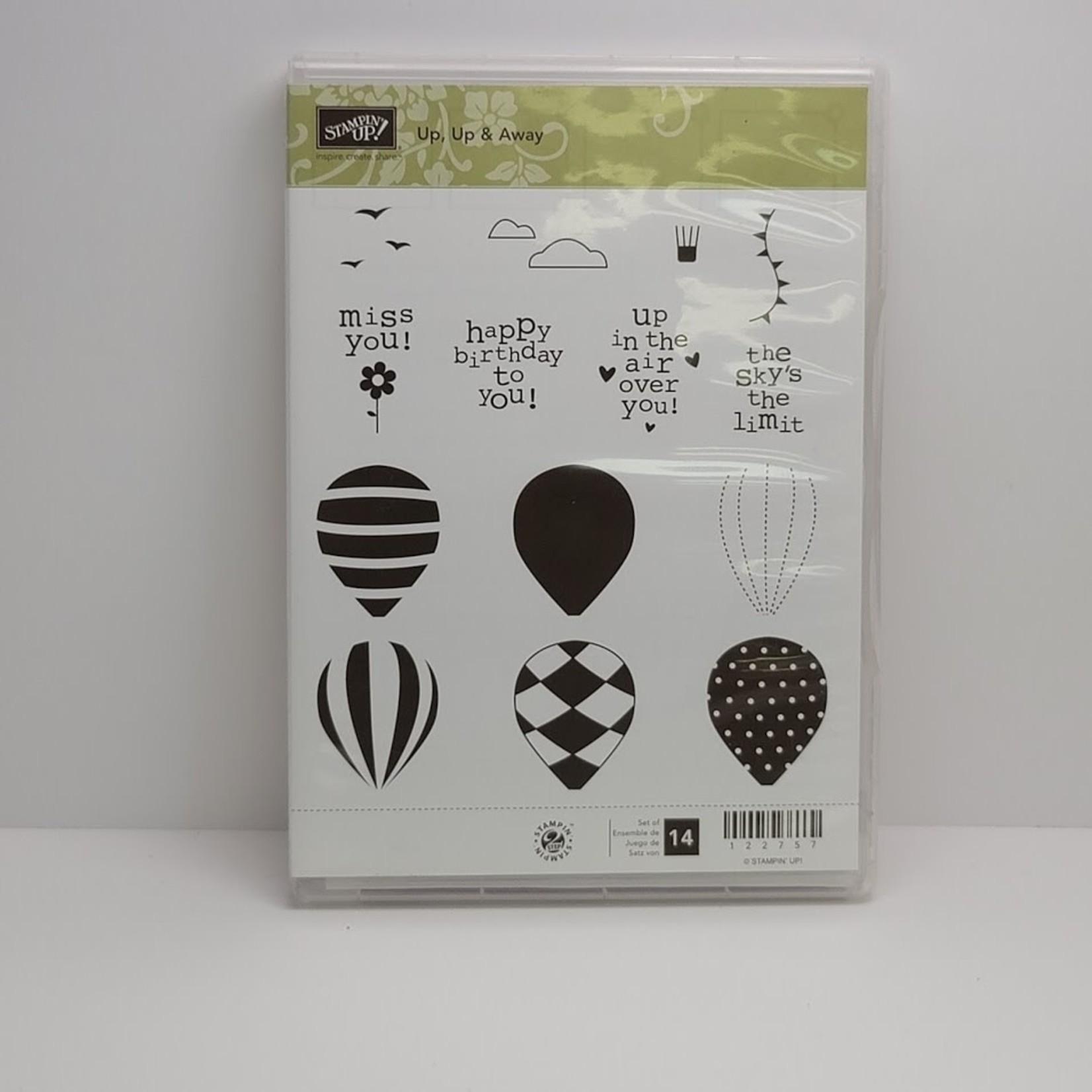 Stampin' Up Stampin' up - Cling Stamps - Up, Up & Away