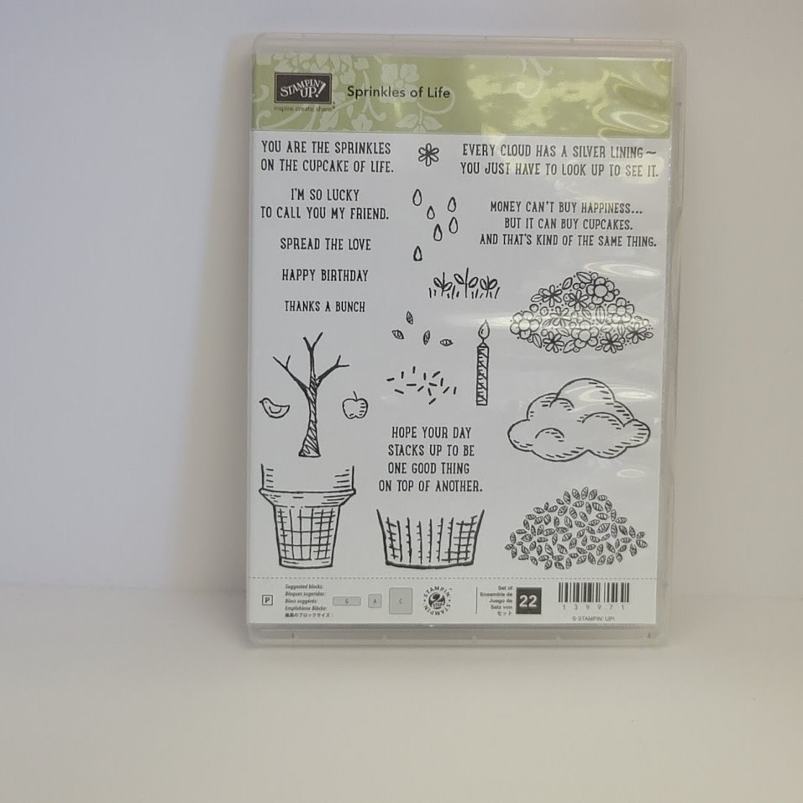Stampin' Up Stampin' Up - Cling Stamps - Sprinkles of Life