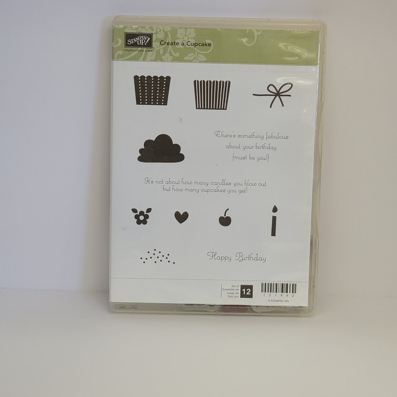 Stampin' Up Stampin' Up - Cling Stamps - Create a Cupcake