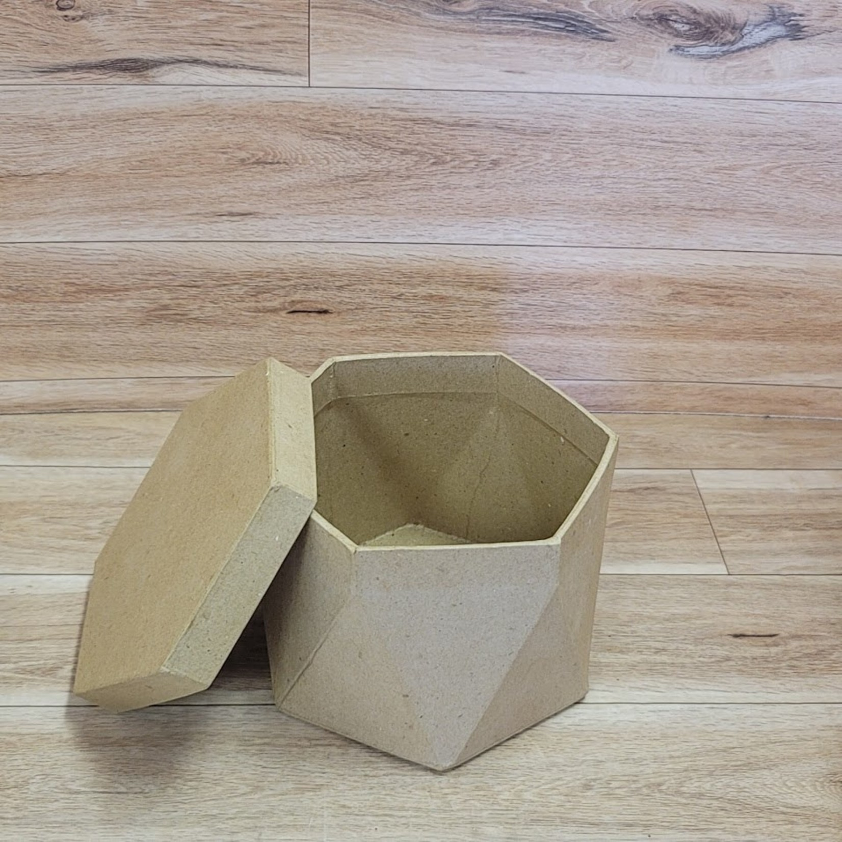 "Kraft Box 5 1/2"" Diameter"