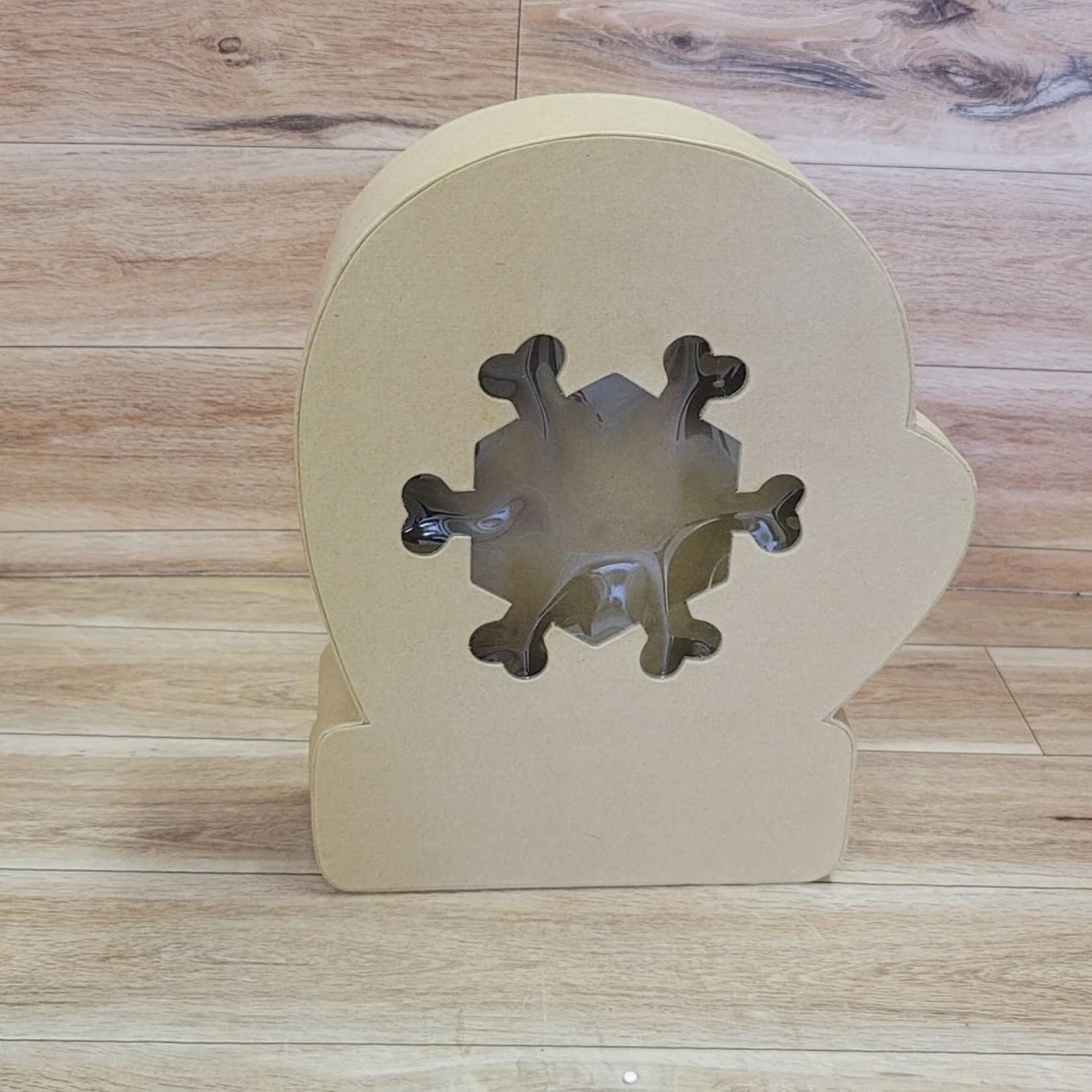 Kraft Box - Mitten with snowflake