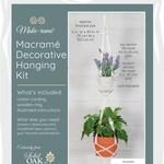 Solid Oak Inc Macrame Kit - Double Plant Haner