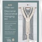 Solid Oak Inc Macrame Kit - Layered Two-Tone Wall Hanging