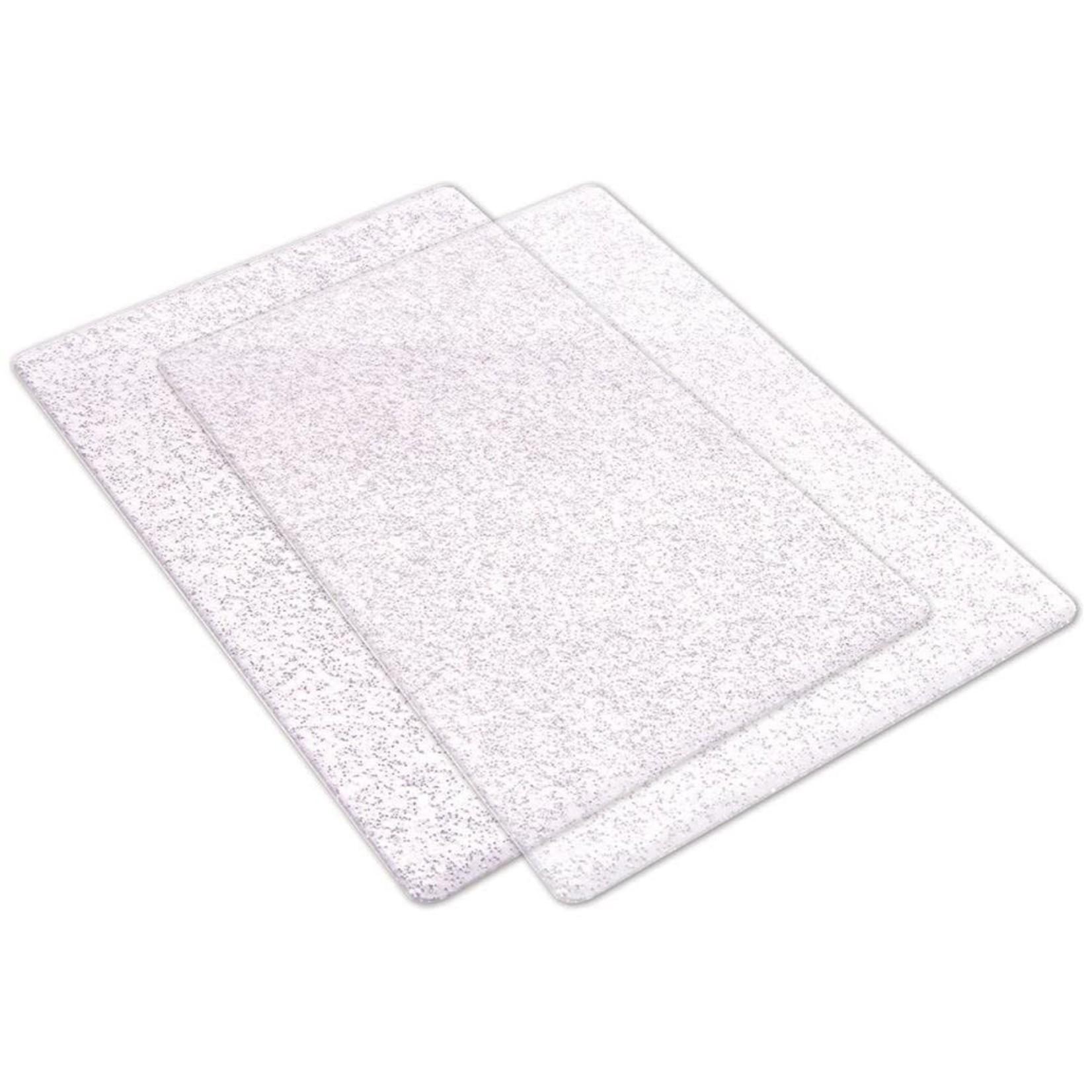 Sizzix Sizzix - Glitter Cutting Pads Standard - Silver