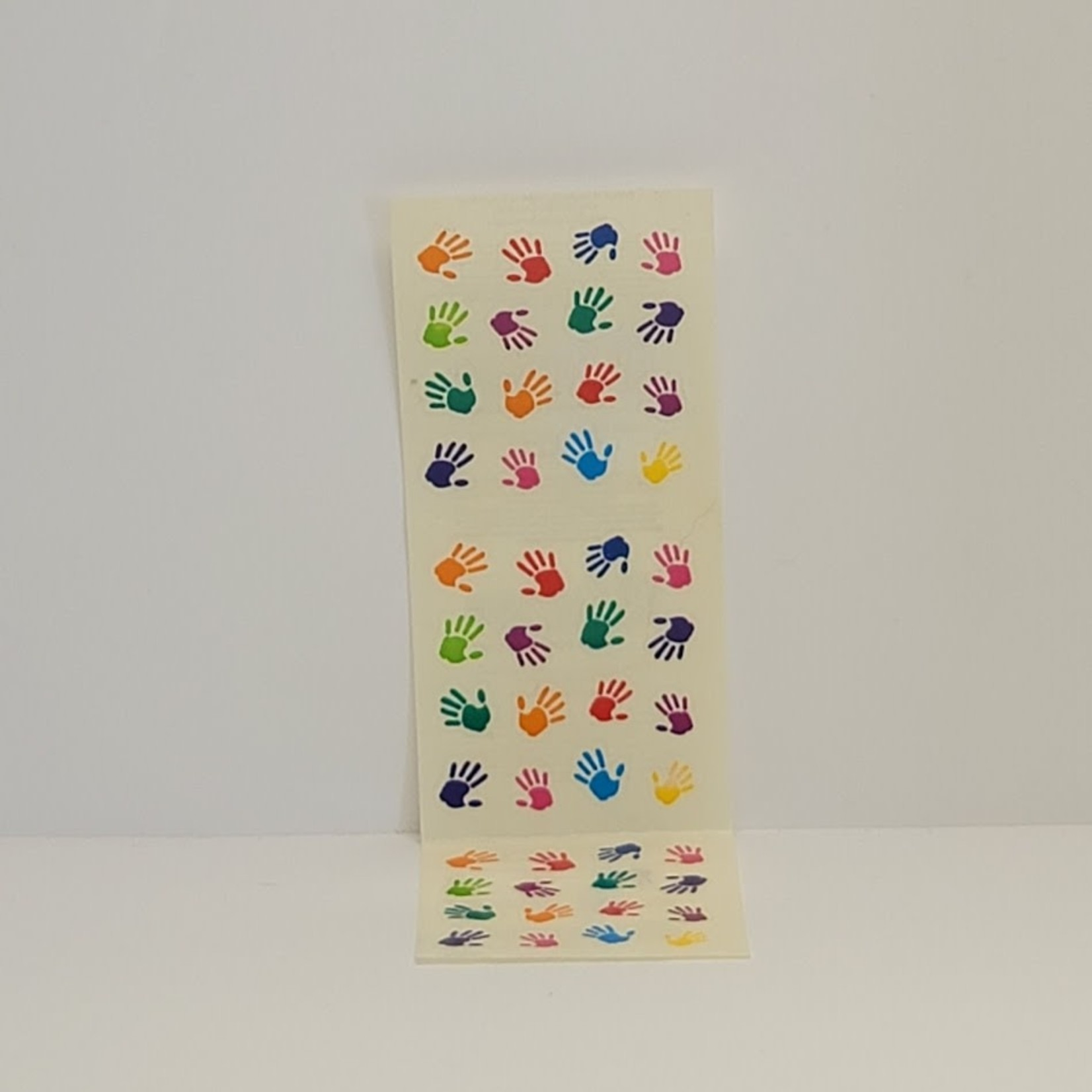 Mini Hand Print Stickers