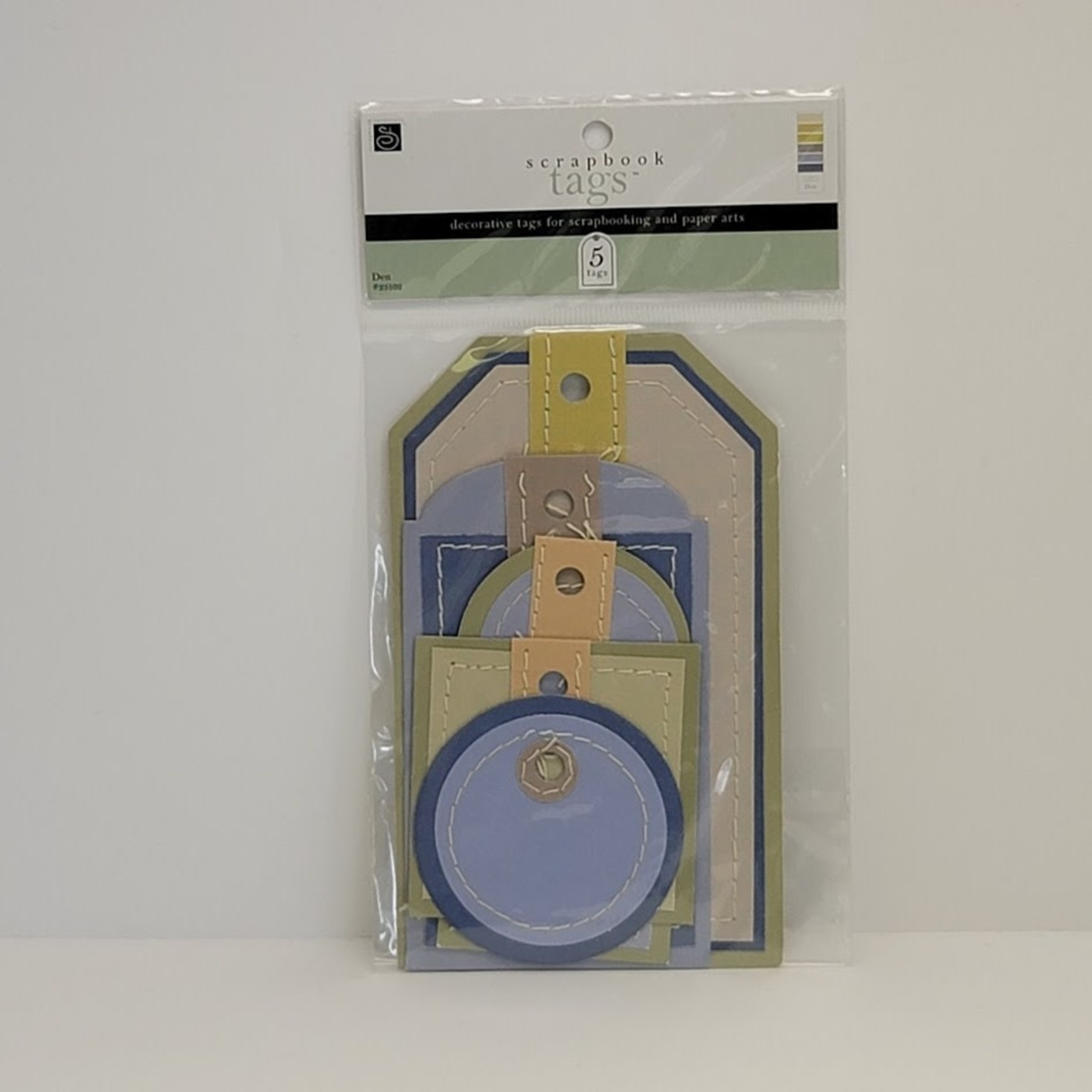 Scrapbook Tags - 5 Tags