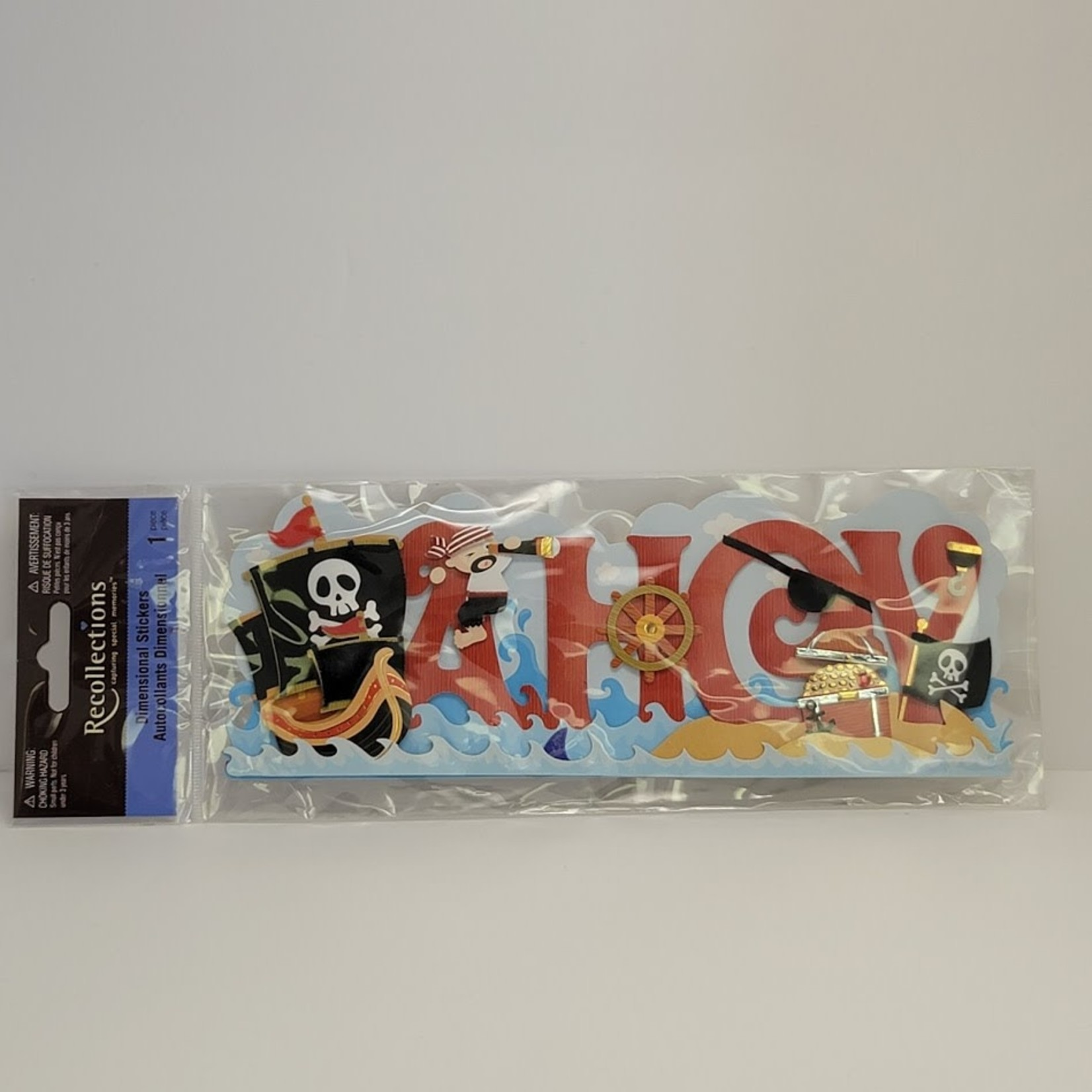 Dimensional Stickers - Ahoy