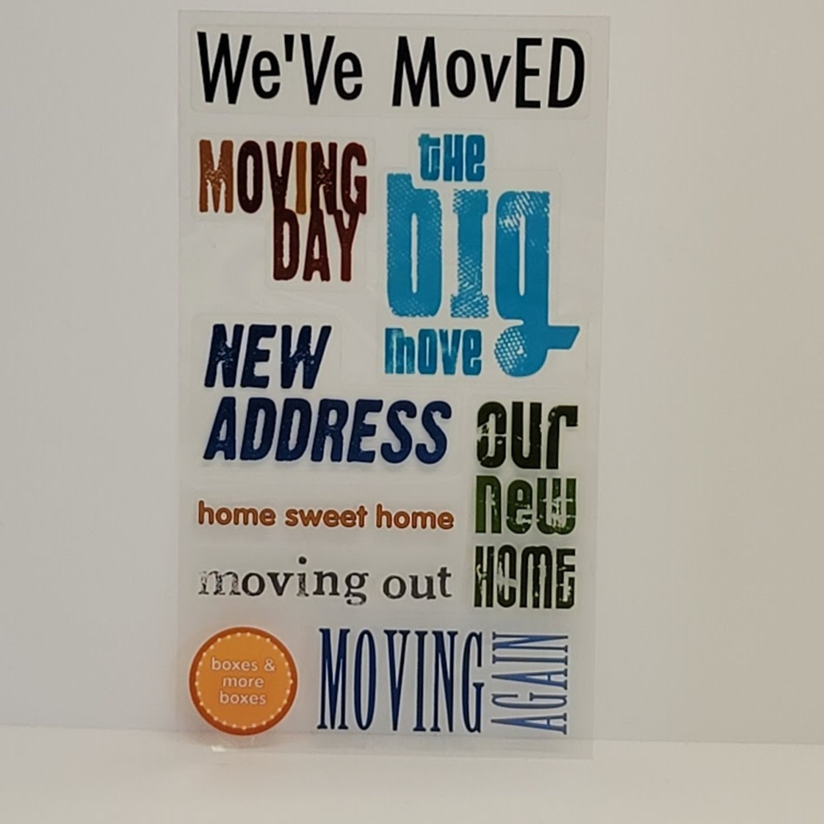 Stickers - We've Moved