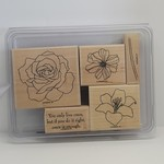 Stampin' Up Stampin' Up - Wooden Stamp Set - Fifth Avenue Floral