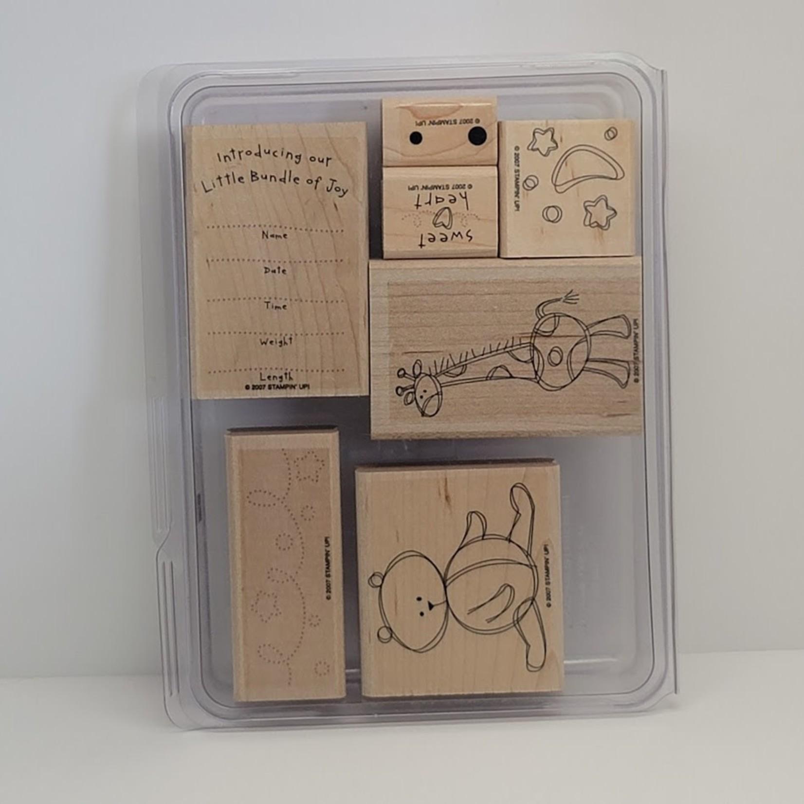 Stampin' Up Stampin' Up - Wooden Stamp Set -Bundle of Joy