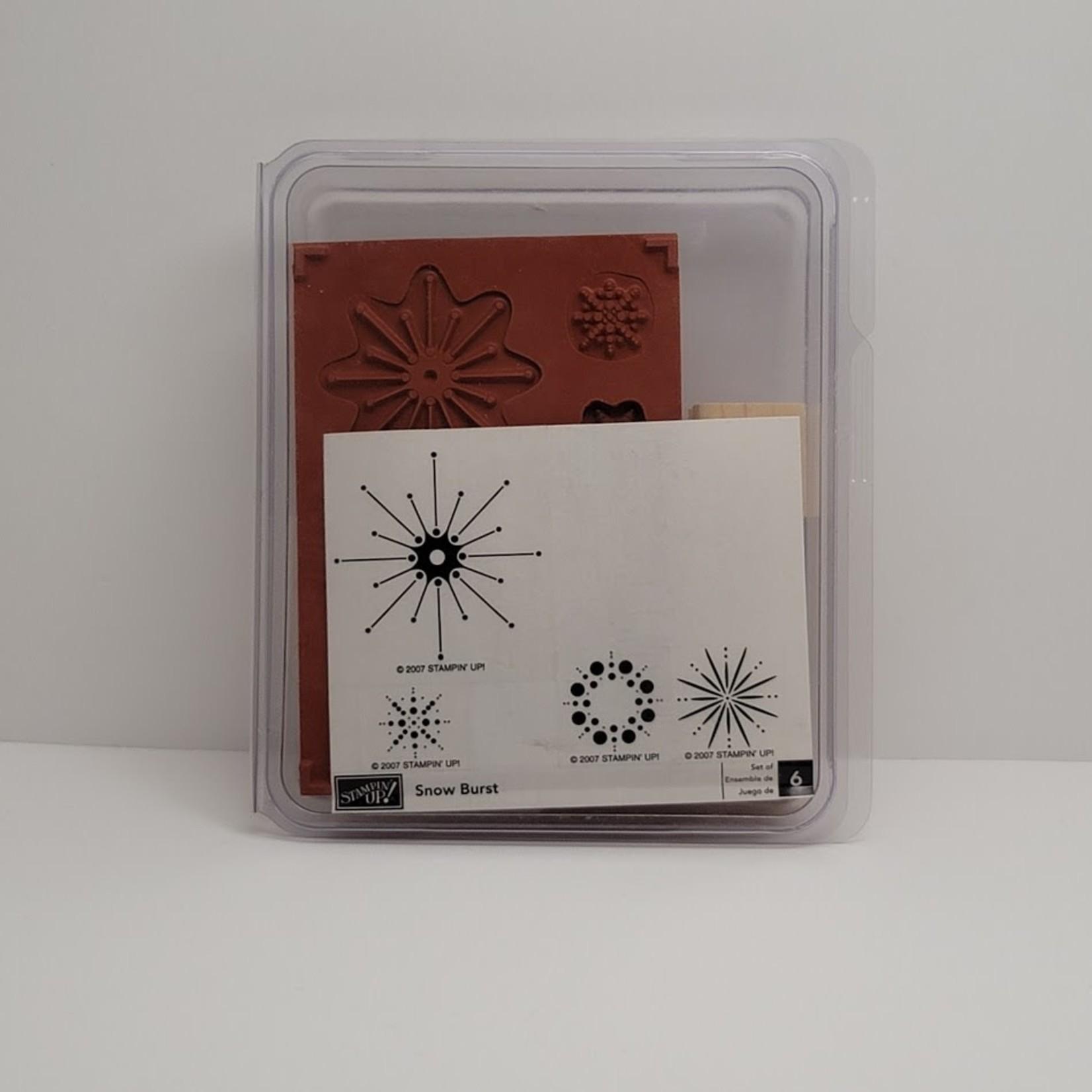 Stampin' Up Stampin' Up - Wooden Stamp Set - Snow Burst