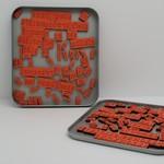 Making Memories - Stamp Set - Magnetic Stamp Alphabet