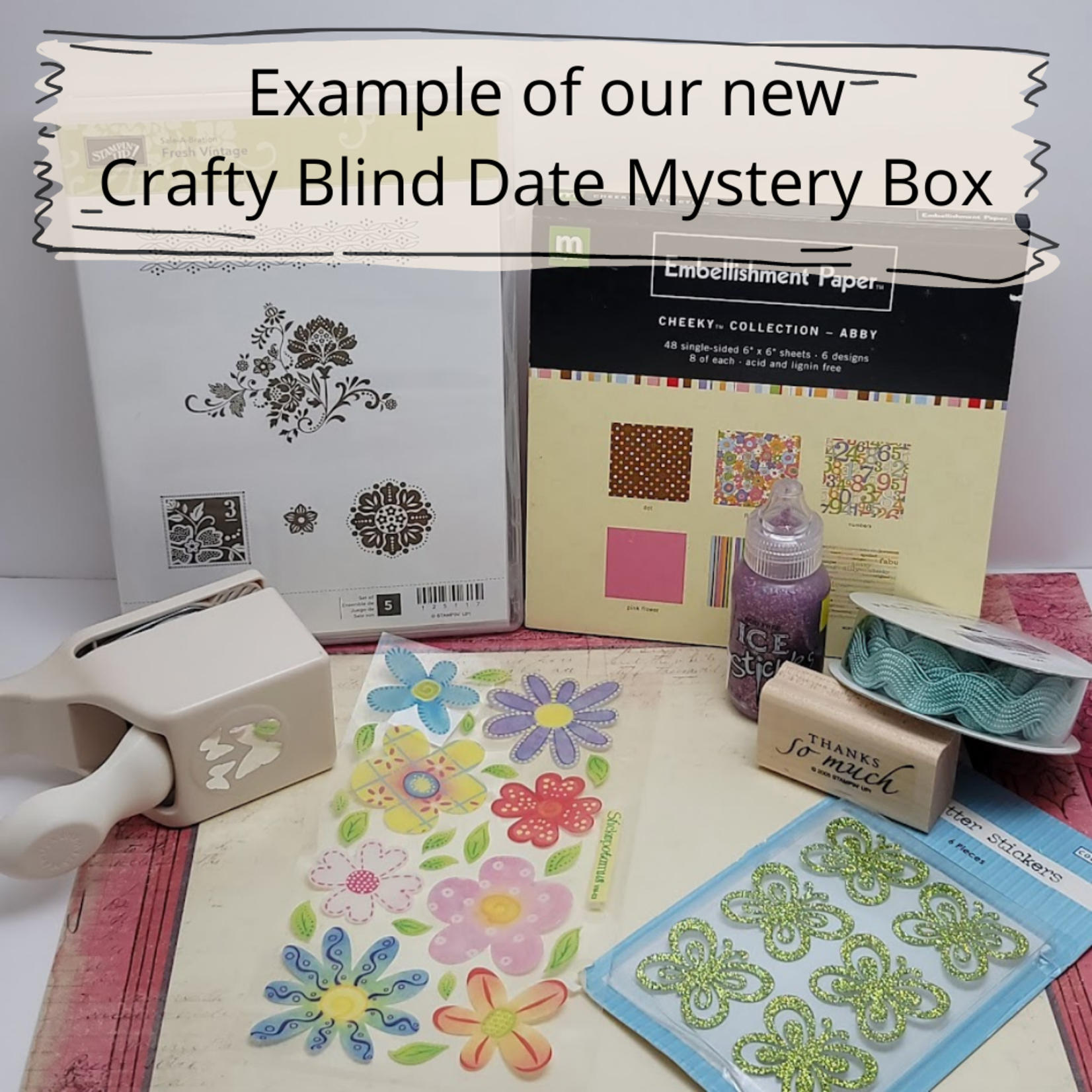 Crafty Blind Date Mystery Box