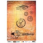Studio Light Studio Light  - Just Lou Aviation Collection - 200mm x 276mm Rice Paper - RICEJL15