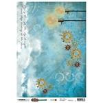 Studio Light Studio Light  - Just Lou Aviation Collection - 200mm x 276mm Rice Paper - RICEJL16