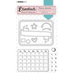 Studio Light Studio Light - Essentials Stamp & Cutting Dies - Planner Elements - SL-PES-SCD01