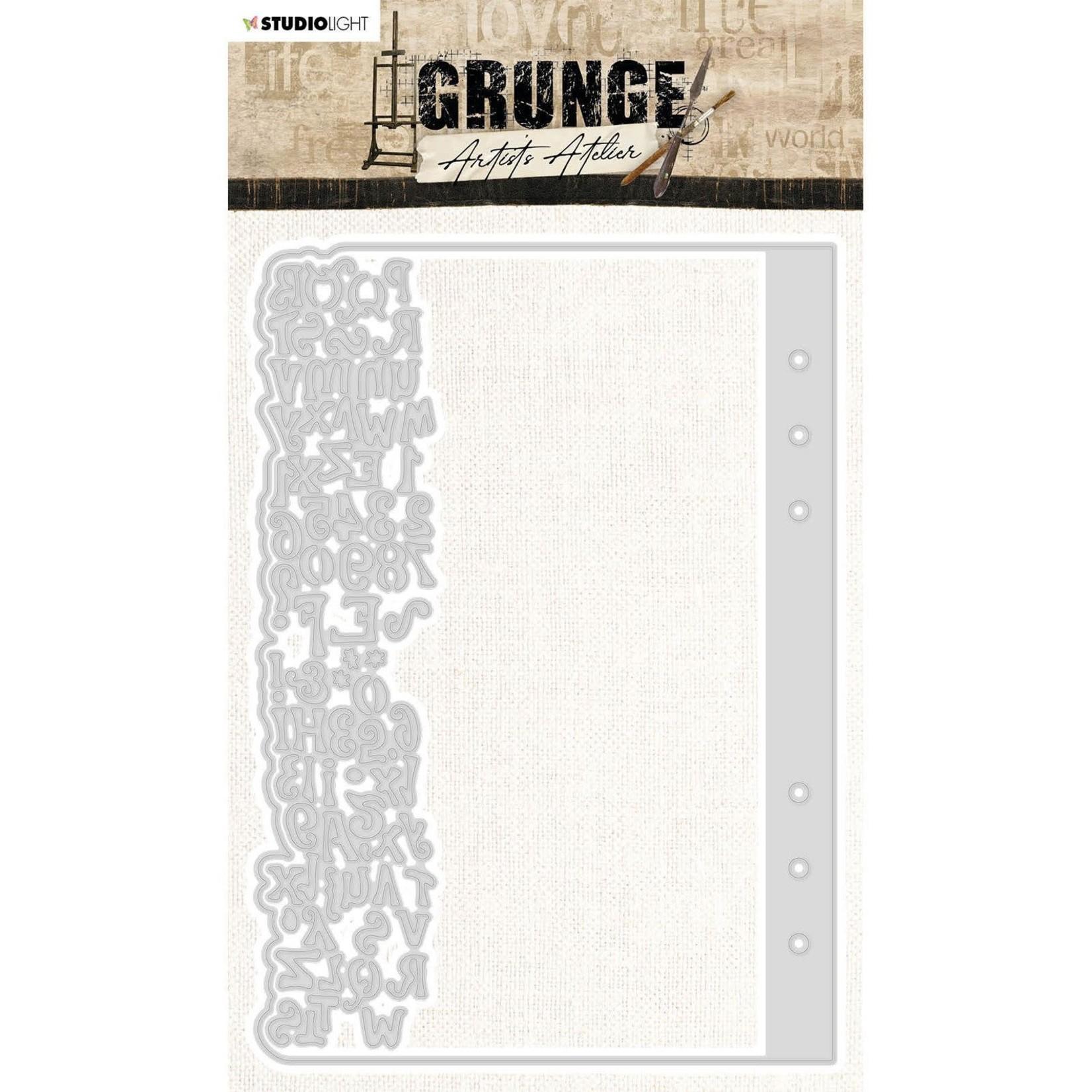 Studio Light Studio Light - Grunge Artist's Atelier -  Essentials Cutting Dies - Planner Page - SL-GR-CD25