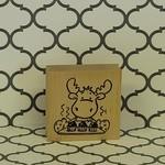 Moose Baking Stamp