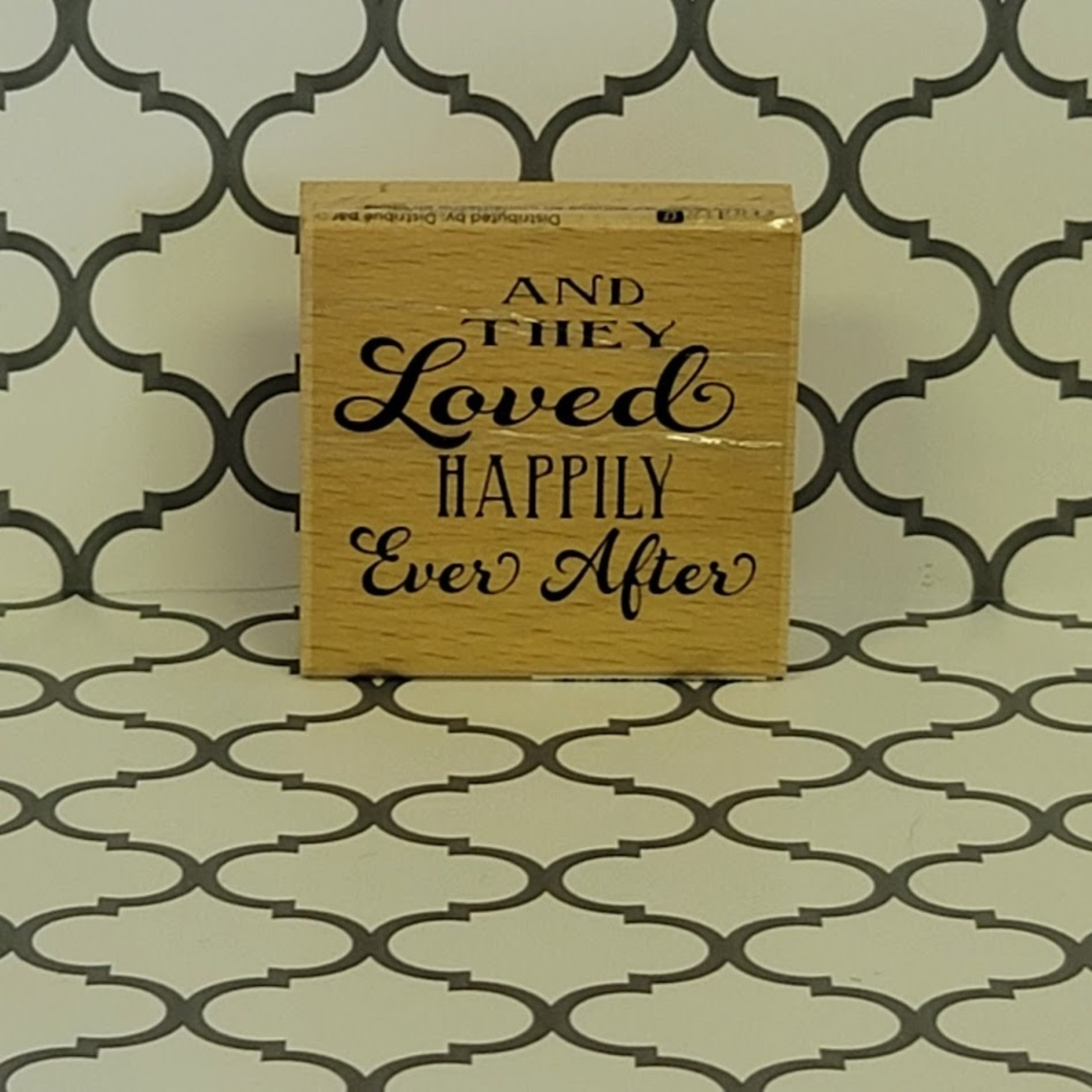 And They Loved Happily Ever After Stamp