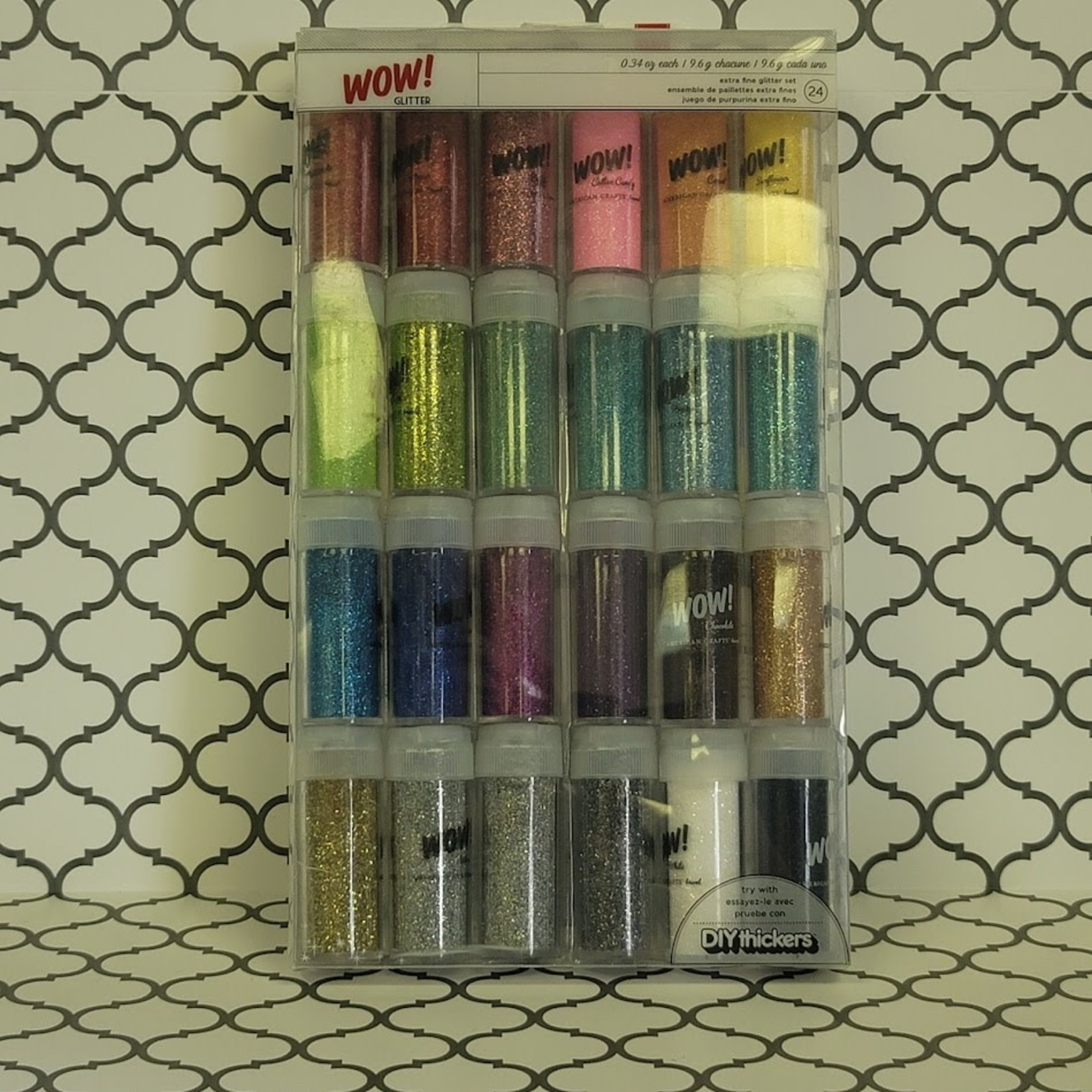 American Crafts American Crafts - WOW! glitter 24 pack