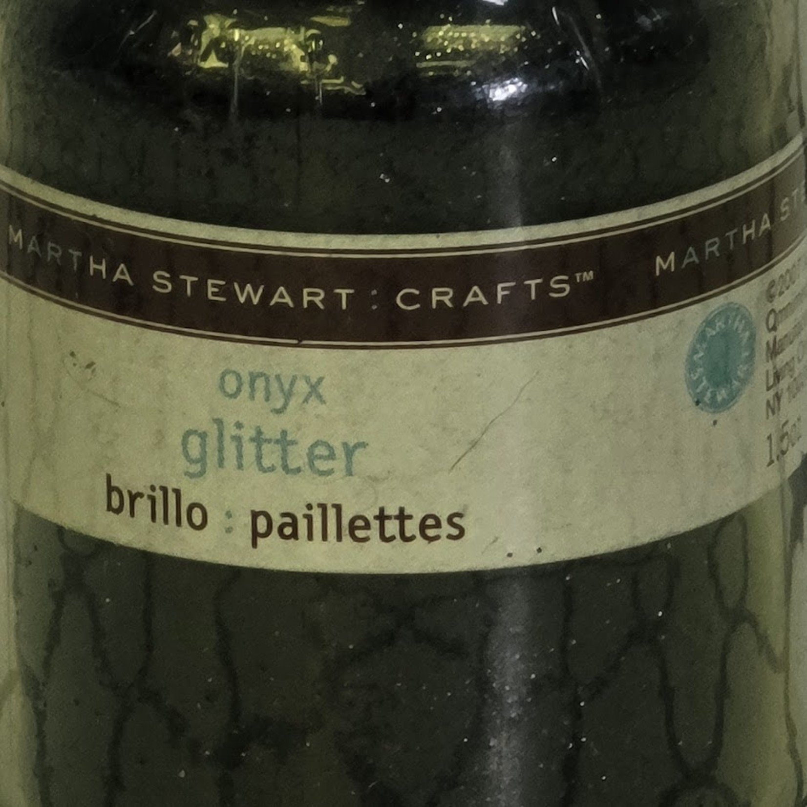 Martha Stewart Martha Stewart Crafts - Glitter - Onyx