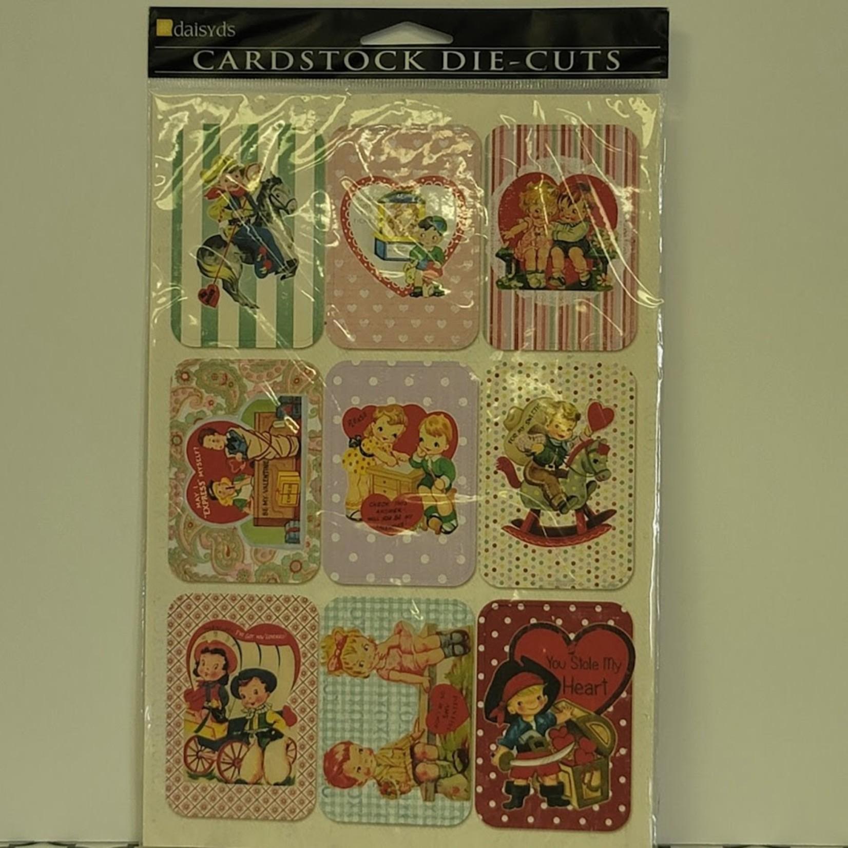 Cardstock Die-Cuts - Valentine Cards