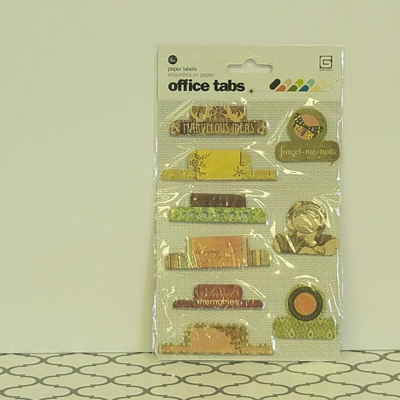 BasicGrey - Paper Labels - Office tabs