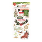 Vicki Boutin Vicki Boutin - Warm Wishes Collection - Christmas - Sticker Book With Champagne Gold Foil Accents