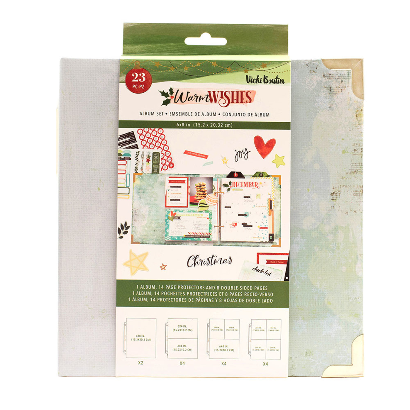 Vicki Boutin Vicki Boutin - Warm Wishes Collection - Christmas - 6 x 8 Album Set