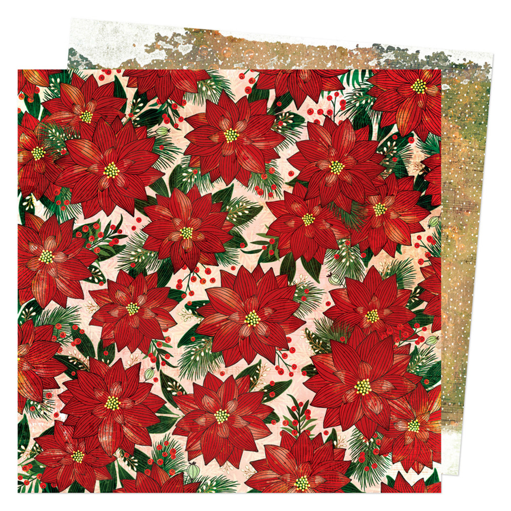 Vicki Boutin Vicki Boutin - Warm Wishes Collection - Christmas - 12 x 12 Double Sided Paper - Individual Sheets