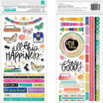 Vicki Boutin Vicki Boutin - Color Study - All This Happiness Thickers Stickers