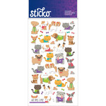 Sticko Stickers-Tiny Cats & Dogs