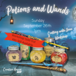 Kids Crafting Workshop - Potions and Wands