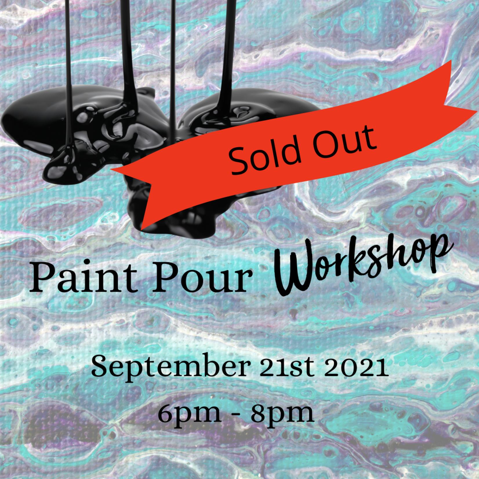 Paint Pour Workshop - SOLD OUT