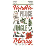 Simple Stories Simple Stories - Simple Vintage Rustic Christmas Collection - Foam Stickers