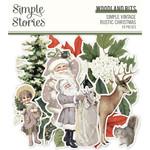 Simple Stories Simple Stories - Simple Vintage Rustic Christmas Collection - Woodland Bits